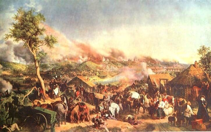 Battle of Smolensk (1812) The Battle of Smolensk History of the Wars of 1812