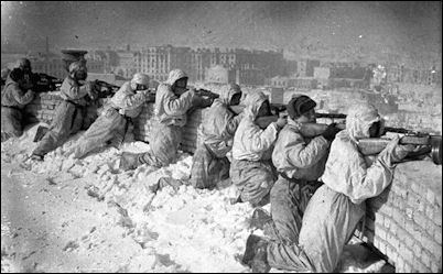Battle of Stalingrad The History Place Defeat of Hitler Catastrophe at Stalingrad