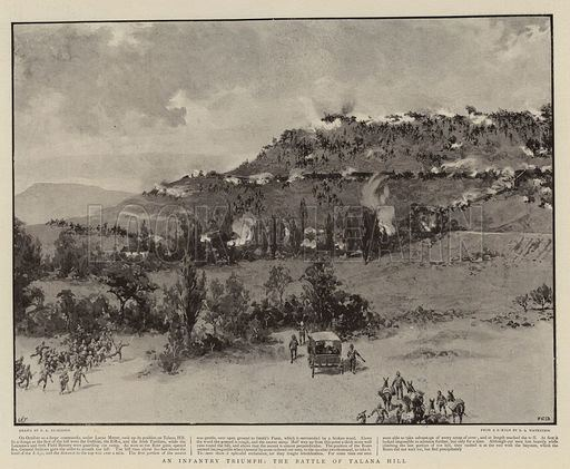 Battle of Talana Hill An Infantry Triumph the Battle of Talana Hill Look and Learn