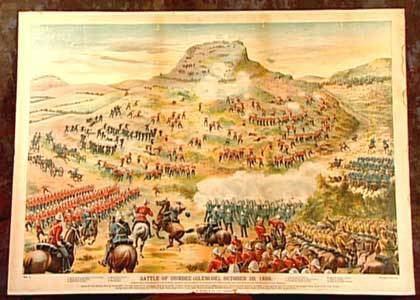 Battle of Talana Hill General PennSymons Talana Hill 1899
