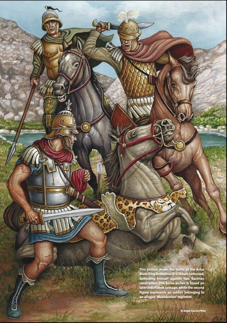 Battle of the Arius The Battle of the Arius was fought in 208 BC between the Seleucids
