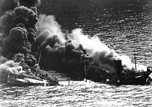 Battle of the Atlantic THE BATTLE OF THE ATLANTIC STRAINS EVEN AMERICA39S VAST RESOURCES