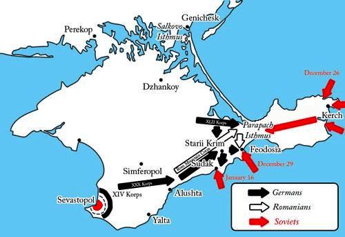 Battle of the Kerch Peninsula Robs Webstek Unternehmen Trappenjagd
