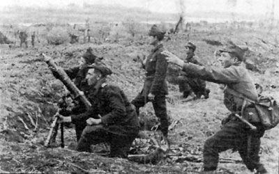 Battle of the Kerch Peninsula RomanianMortar during the Kerch Peninsula battle May 818 1942