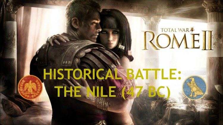 Battle of the Nile (47 BC) Total War Rome 2 Historical Battle The Nile 47 BC Rome x