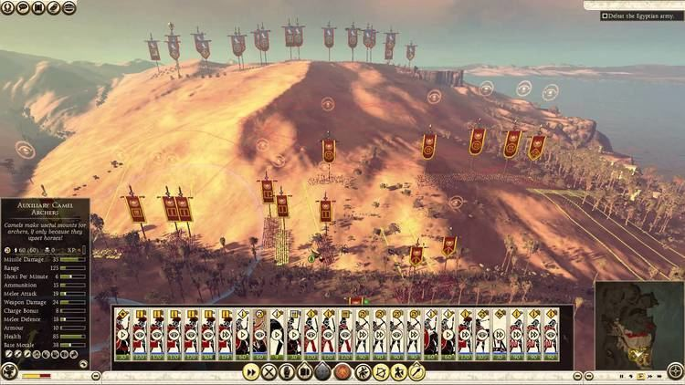 Battle of the Nile (47 BC) Total War Rome II The Nile Historical Battle YouTube