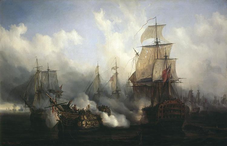 Battle of Trafalgar Battle of Trafalgar Wikipedia