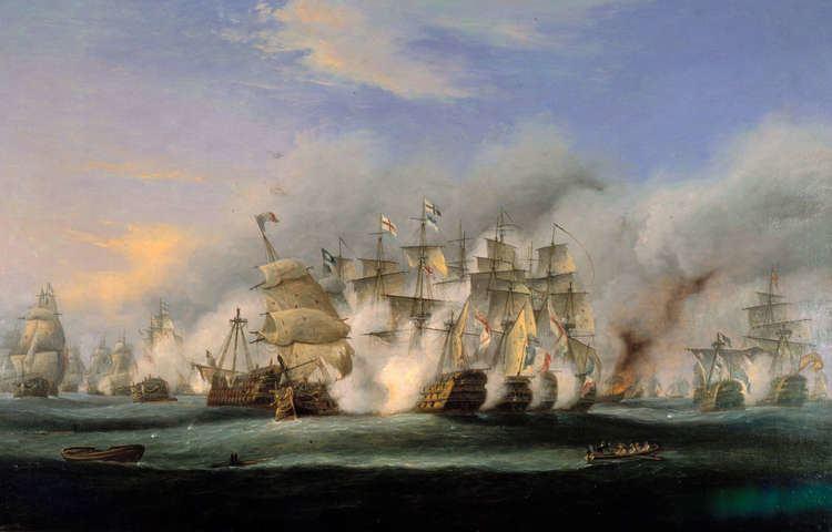 Battle of Trafalgar Battles HMS Victory