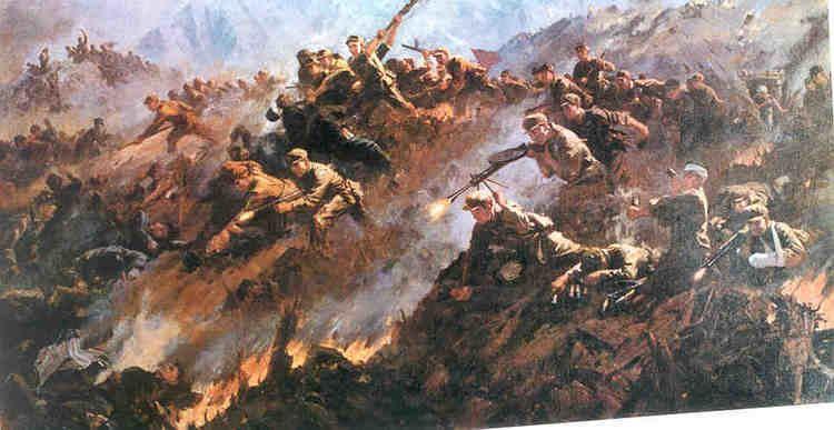 Battle of Triangle Hill - Alchetron, the free social