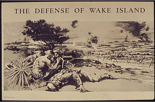 Battle of Wake Island Infamy December 1941 The National WWII Museum New Orleans