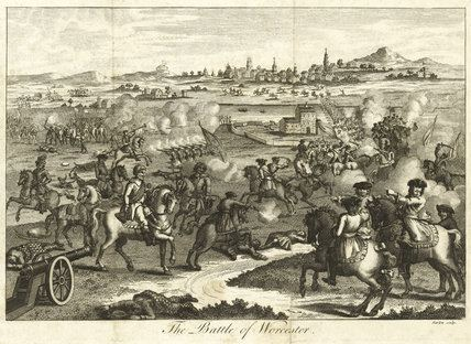 Battle of Worcester The Battle of Worcester 1651 by Barlow at National Army Museum