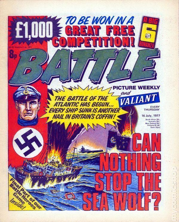Battle Picture Weekly Battle Picture Weekly 1976 UK comic books