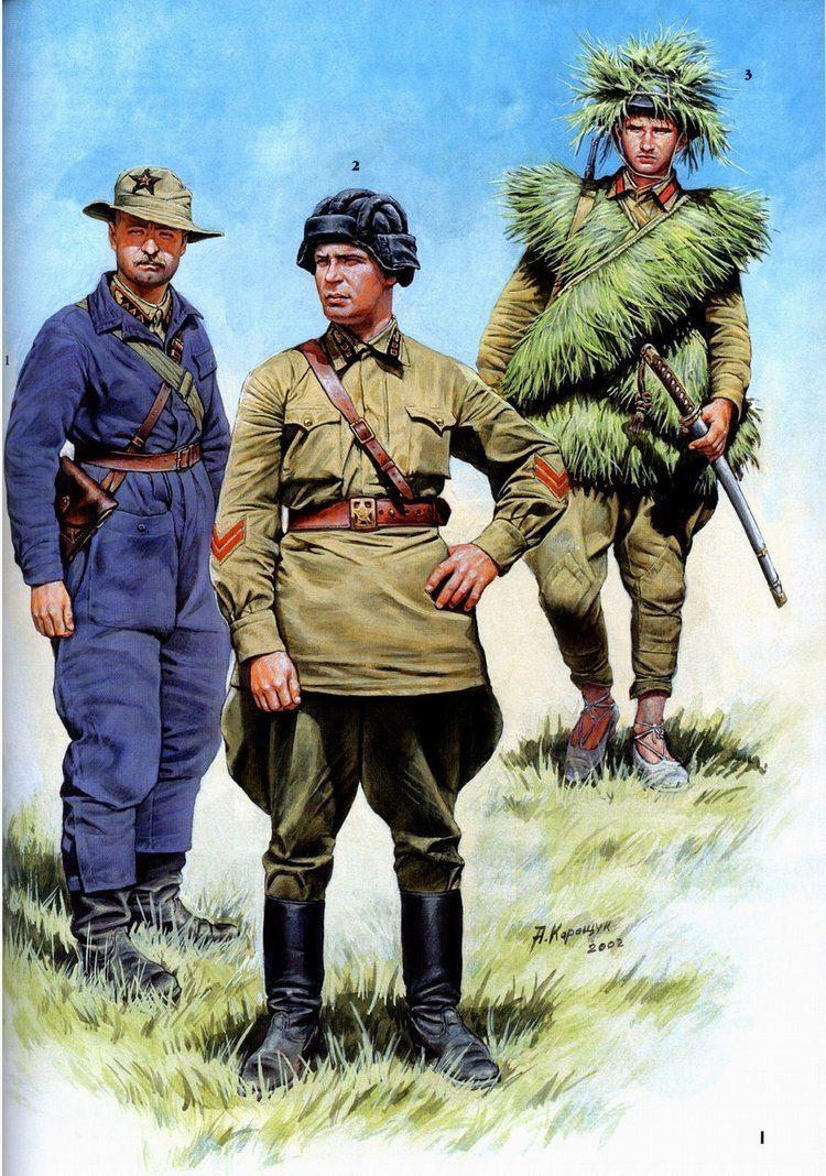 Battles of Khalkhin Gol Graphic Firing Table Decisive Battles KhalkhinGol Nomonhan 1939