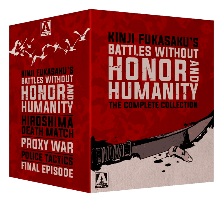 Battles Without Honor and Humanity Battles Without Honour and Humanity Limited Edition Collection Blu