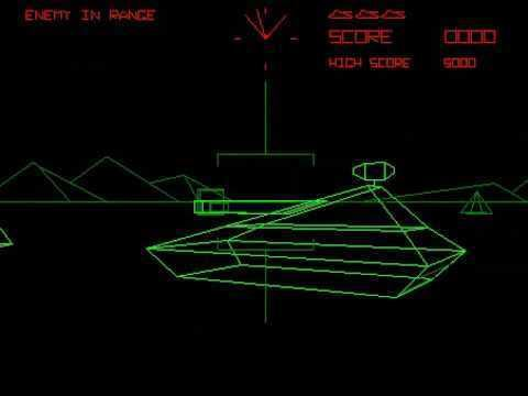 Battlezone (1980 video game) Battlezone 1980 Atari Inc Co YouTube