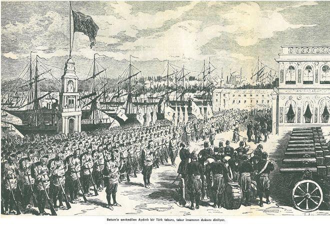 Batumi in the past, History of Batumi
