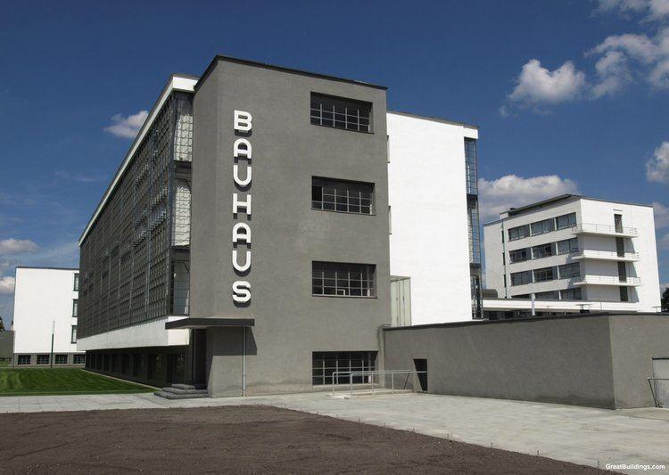 Bauhaus Bauhaus Walter Gropius Great Buildings Architecture