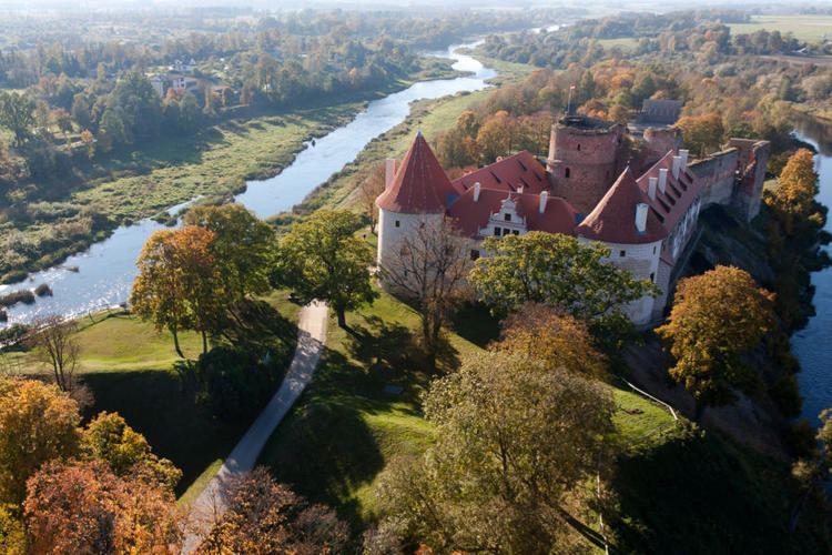 Bauska Castle Bauskas pils CASTLE AND MUSEUM