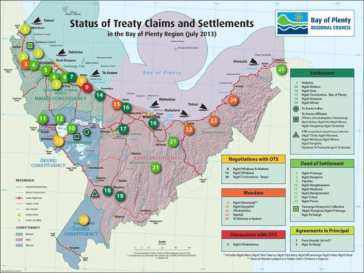 Bay of Plenty in the past, History of Bay of Plenty