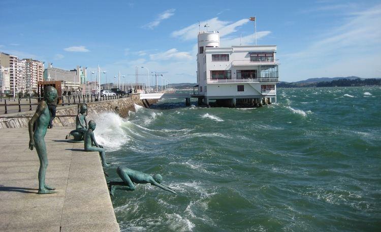 Bay of Santander Sarah on Sabbatical