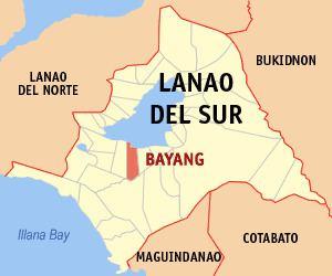 Bayang, Lanao del Sur