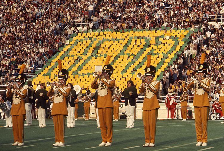 Baylor University Golden Wave Band 1976 Baylor University Homecoming The Golden Wave Band1 Flickr