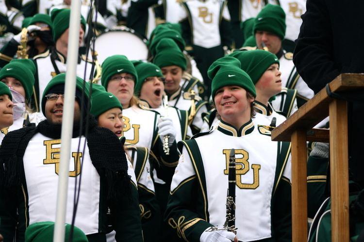 Baylor University Golden Wave Band Golden Wave Band The Baylor Lariat