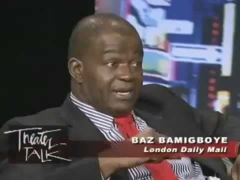 Baz Bamigboye Theater Talk Brits on Broadway London columnist Baz Bamigboye