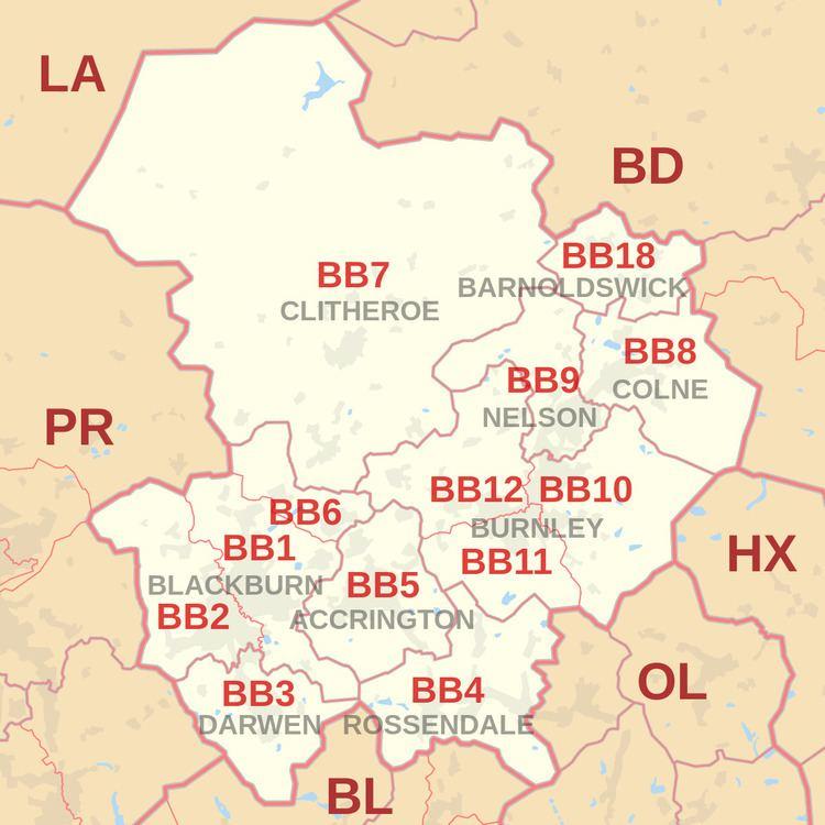 BB postcode area
