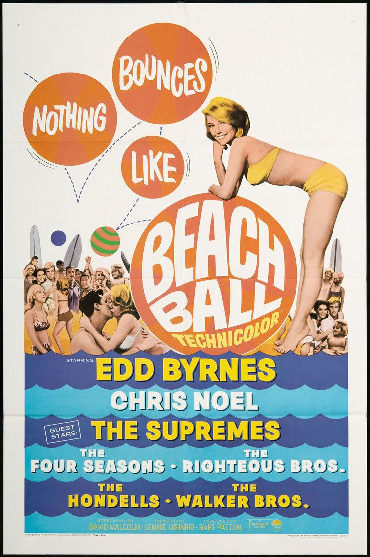 Beach Ball (film) Musical Monday Beach Ball 1965 Comet Over Hollywood