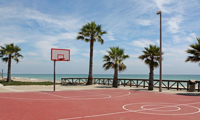 Beach Basketball 25 Courts With The Best Views In World Active Weekender
