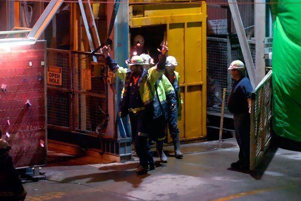 Beaconsfield Mine collapse Mine Rescue
