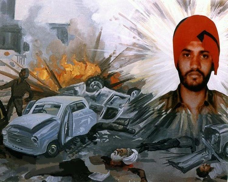 Beant Singh (chief minister) AssassinationofCMButcherBeanta