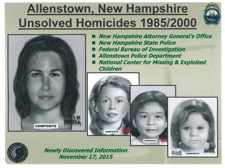 Bear Brook murders Suspect in Bear Brook Murders Named by State Police New Hampshire