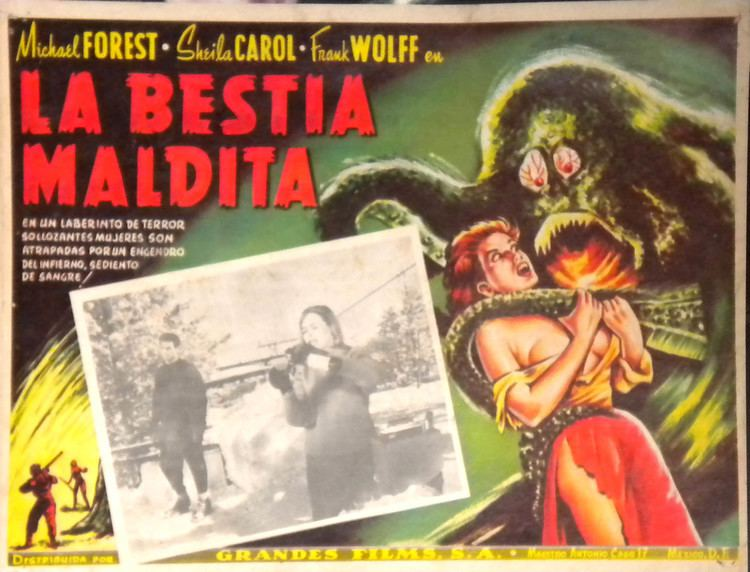 Beast from Haunted Cave Beast from Haunted Cave 1958 HORRORPEDIA