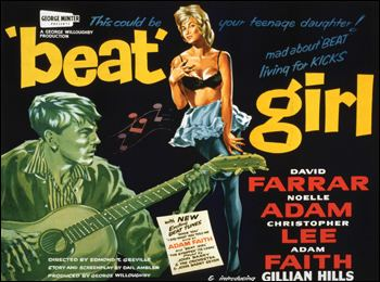 Beat Girl 1960s Films Beat Girl Mary Rizza