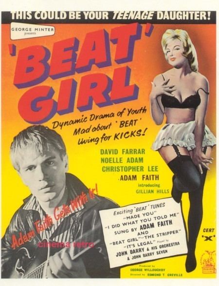 Beat Girl Gillian Hills is the Beat Girl WFMUs Beware of the Blog