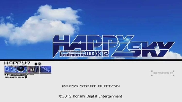 Beatmania IIDX 12: Happy Sky Beatmania IIDX Happy Sky Intro HD 1080p Recreation YouTube