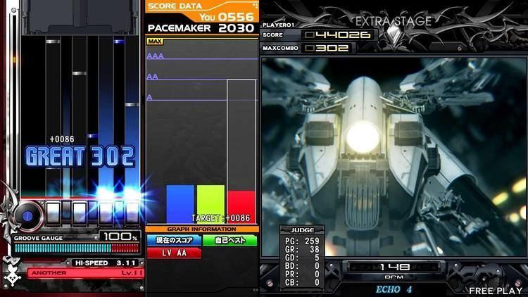 Beatmania IIDX 21: Spada beatmania IIDX 21 SPADA LED EXTREME MACH COLLIDER ANOTHER