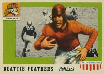 Beattie Feathers The Trading Card Database Tennessee Volunteers Gallery