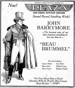 Beau Brummel (1924 film) Beau Brummel 1924 Silent Film Review Rating Plot Summary