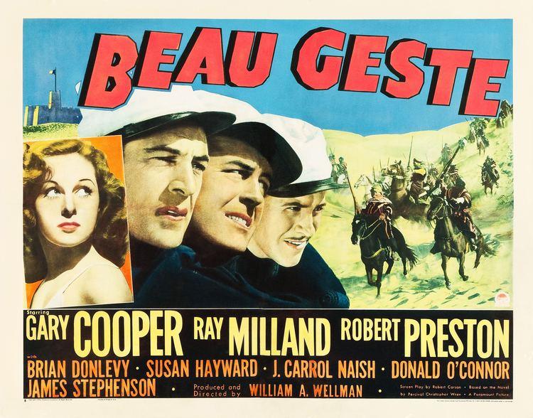 Beau Geste (1939 film) Beau Geste 1939