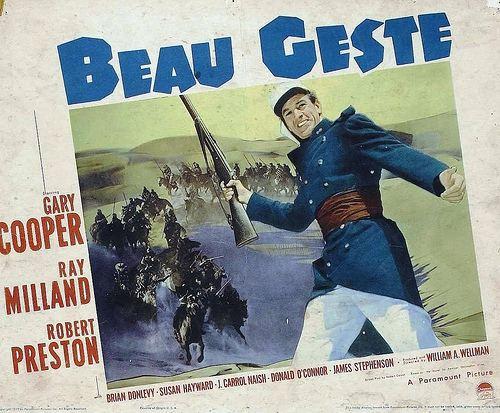 Beau Geste (1939 film) Old Hollywood Films The Essential Films of 1939 Beau Geste