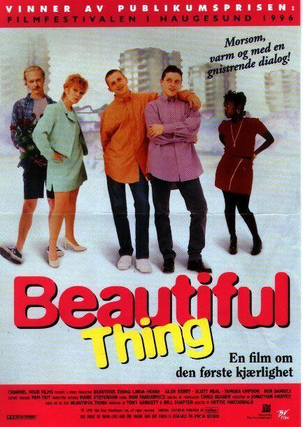 Beautiful Thing (film) Beautiful Thing Movie Poster 4 of 7 IMP Awards