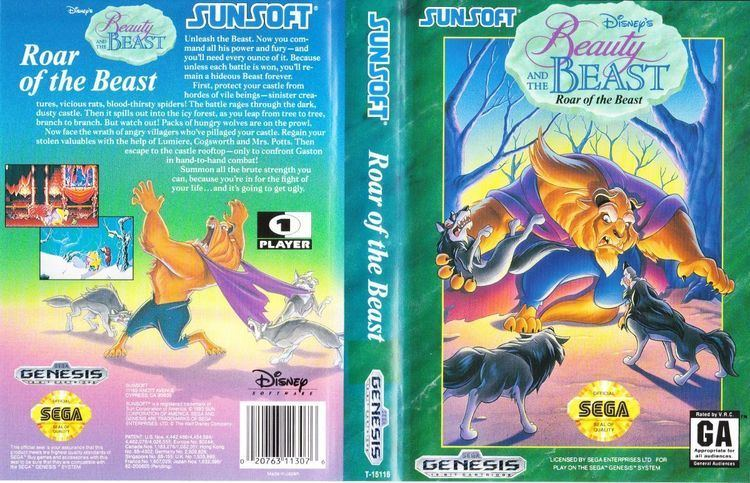 Beauty & The Beast: Belle's Quest Beauty and the Beast Belle39s Quest USA ROM lt Genesis ROMs