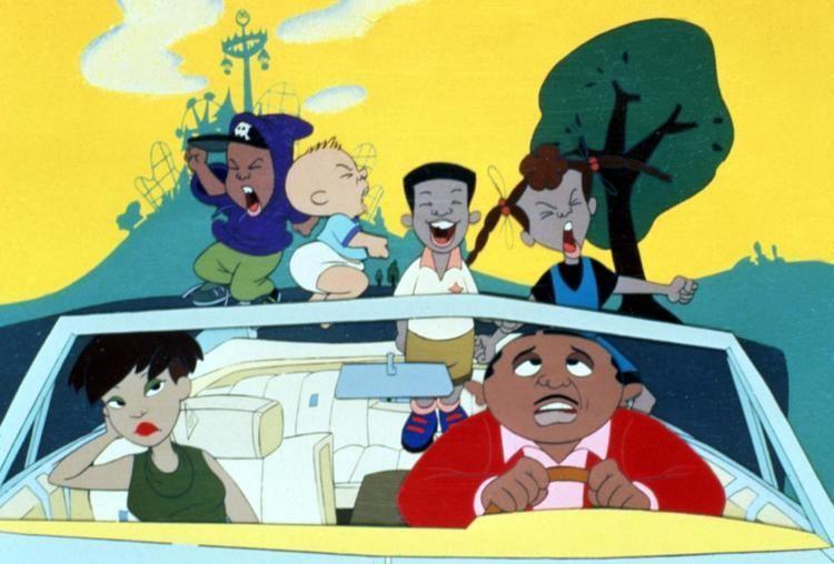 Bebes Kids movie scenes BEBE S KIDS Jamika Kahlil Pee Wee Robin Lashawn 1992