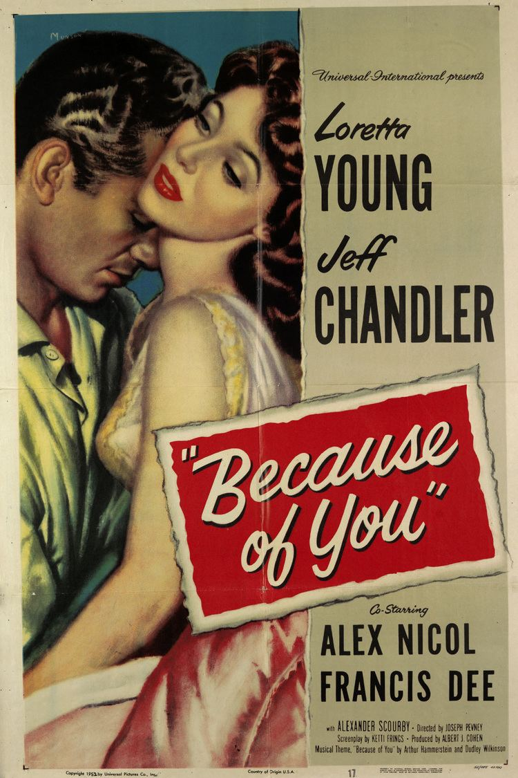 Because of You (film) wwwgstaticcomtvthumbmovieposters37774p37774