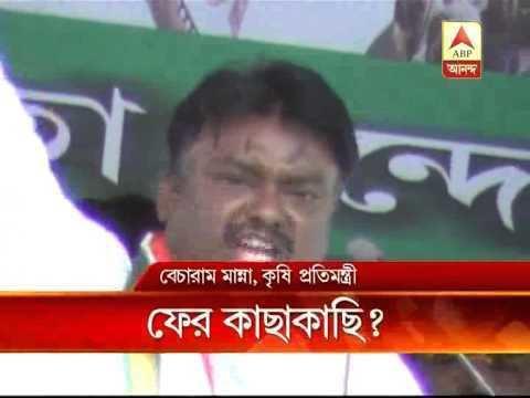 Becharam Manna Becharam Manna share stage with Rabindranath Bhattacharya at Singur