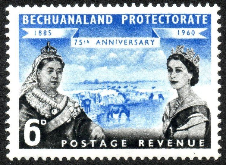 Bechuanaland Protectorate File1960 6d Bechuanaland Protectorate stampjpg Wikimedia Commons