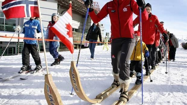 Beckie Scott Retired Olympian Beckie Scott helps Aboriginal youngsters